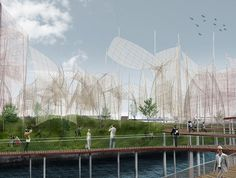 Who Says Power Plants Have To Be Ugly? This Sculpture Reinvents Wind Power As Art   Co.Exist   ideas + impact