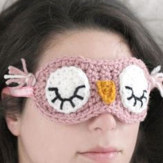 FREE eye mask pattern! Just oh so lovely, thanks for generous share xox