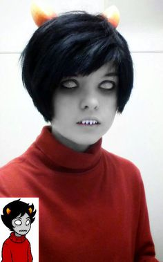 Kankri Vantas from Homestuck--- yassssss this is perfect