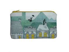 Mary Poppins zippered pouch