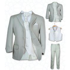 SIRRI Boys' Suits, Girls' Dresses   Boys Wedding Beige & Ivory Suit   Boys Wedding Suits
