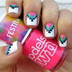 Cute Festival nails for Morgan!