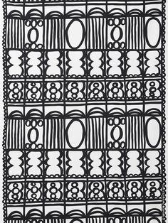 REVIVA metervara av Lotta Külhorn, inspirerad av Paris vackra trappor, balkongräcken och järngrindar.