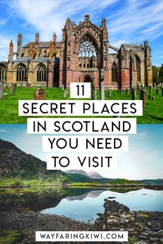 ireland travel Are you planning a trip to Scotland Check out my 11 secret places in Scotland. Dont forget to save this to your travel board so you can find it later! Scotland Road Trip, Scotland Vacation, Places In Scotland, Scotland Travel, Ireland Travel, Europe Destinations, Europe Travel Tips, European Travel, Places To Travel