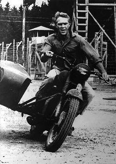 Steve Mcqueen, o mito! Robert Vaughn, Ali Macgraw, Jackie Gleason, Sundance Kid, Jacqueline Bisset, Fred Astaire, Steve Mcqueen Motorcycle, Thomas Crown, Escape Movie