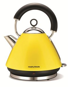 Accents Yellow Traditional Kettle, Morphy Richards