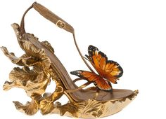 This McQueen shoe is a work of art