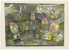Paul Klee. The End of the Last Act of a Drama (Schluss des letzten Aktes eines Dramas). 1920