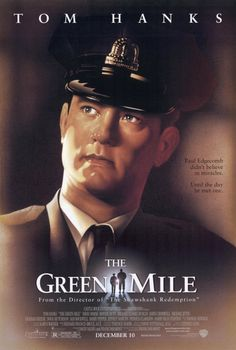One of my all-time-favorites.  Stephen King is as good at beautiful storytelling as he is scary storytelling.    The Green Mile is a story about redemption, atonement and humanity.  So, so good.