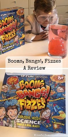 Booms, Bangs!, Fizzes Pin Cool Science Experiments, Easy Science, Space Crafts For Kids, Water Bombs, Cooking With Kids, Bangs, Activities For Kids, How To Memorize Things, Product Launch