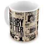 Caneca Personalizada Porcelana Harry Potter Jornal Profeta Diário