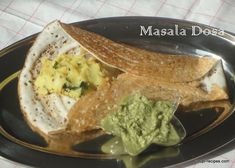 The crisp crest with soft interior masala dosa is said to be originated in Udupi. It is a Indian crepe made up of rice and black lentil served with potato-masala stuffing.