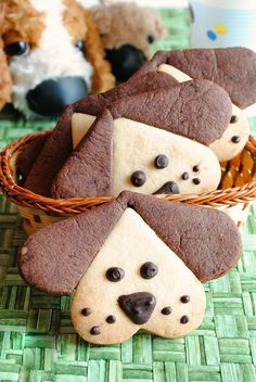 Puppy cookies, put a puppy for breakfast! )) Puppy cookies, put . - Puppy cookies, put a puppy for breakfast! ]] Puppy cookies, put a puppy for breakfast! Sugar Cookies, Cookies Et Biscuits, Shortbread Biscuits, Apple Cookies, Almond Cookies, Cookies Light, Pinwheel Cookies, Biscotti Cookies, Cookies For Kids