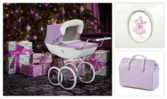 New for our beautiful limited edition Snow Fairy dolls's pram features sparkling lilac fabric and a removable white fur hood trim. And it comes with a matching fur mattress and co-ordinating changing bag. Lilac, Purple, Pink, Snow Fairy, Dolls Prams, Changing Bag, Love Fairy, Clothes Crafts, Fairy Dolls