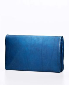 Ann Taylor -  Nappa Leather Clutch