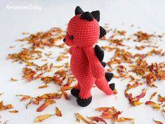 Amigurumi Cuddle Me Dragon crochet pattern