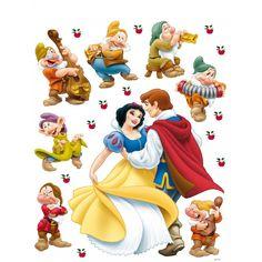 Disney Snow White and Prince Charming | disney snow white and the charming prince giant stickers the disney ...
