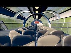 ENGEFROM ENGENHARIA E VENDAS COMERCIAIS: Hyperloop Transport Concept - 3D Animation - Divul...