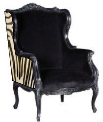 French chair with zebra sides  www.livchic.com