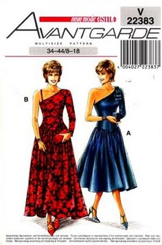 Neue Mode Sewing Pattern
