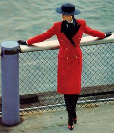 Bill Blass/Saks Fifth Avenue, American Vogue, February 1983.