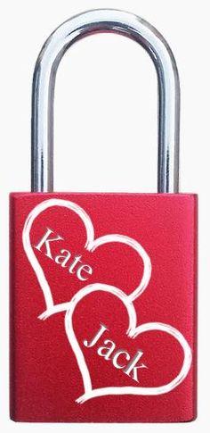 Love gifts, engraving, lovelocks, padlocks, unique gifts. http://foreverlovelocks.com/