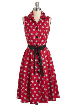"""*Swapped* Tilt-a-Squirrel Dress- sz XL worn a couple of times but in excellent condition! bust is 20"""" and the waist is 16.5"""""""