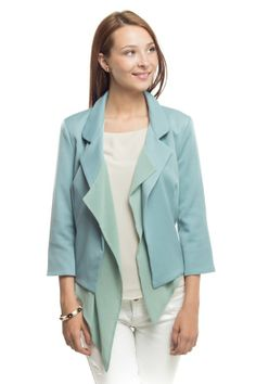 Cropped Fitted Blazer