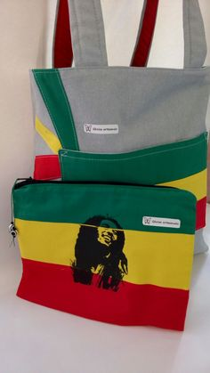 Bolsa dupla face, Bob Marley