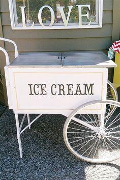 Carrinho de sorvete - genial!