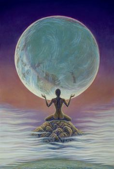 Prayer for Peace by Mark Henson. Pray For Peace as a life style. She sits poised in the ethers, holding the world in her consciousness.