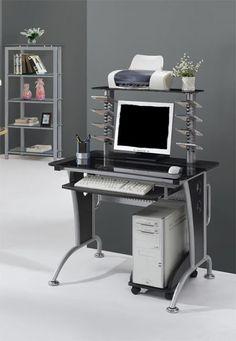 Arbeitstisch Rollbar computerschreibtisch computer arbeitstisch computertisch