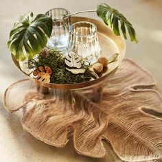 Stielblume Monstera, L:42cm, grün - DEPOT Shops, Terrarium, Home Decor, Home Decor Accessories, Ad Home, Flowers, Balcony, Terrariums