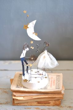 wedding cake topper music and love  lebianchemargherite.blogspot.it