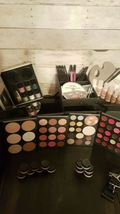 OFRA Professional Makeup Toolbox Kit Plus Pigments! Hypoallergenic Cruelty Free #OFRA