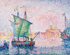 Paul Signac, The Pink Cloud, 1909