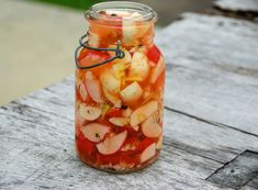 yummy! pickled roots