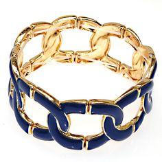 New fashion enamel bangle golden plating,infinity style charm bangels,high quality plated fashion enamel bangles-in Bangles from Jewelry on Aliexpress.com | Alibaba Group