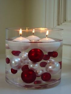 80 Unique Jumbo & Assorted Sizes Red Wine, Burgundy and White Pearls Value Pack Vase Fillers.... The Transparent Water Gels that are floating the Pearls are sold separately.... Vase Pearlfection,http://www.amazon.com/dp/B0047DJZ84/ref=cm_sw_r_pi_dp_E0lVsb066EB260A1