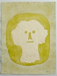 Cabeza Blanca, embossed etching by Tamayo. Please inquire for details.