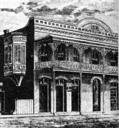 The first Osceola Club building located at 21 1/2 South Palafox Street, was built in 1883. This building was destroyed in (and believed to be the source of) the Halloween Night Fire of 1905.