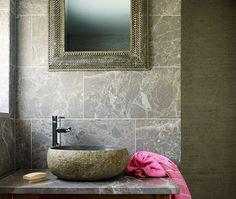 Fume Emperador Honed Limestone Tiles & Stone | Mandarin Stone Tiles & Flooring