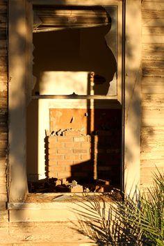 Abandoned House Window, Chandler 2011 #abandoned