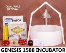 HovaBator Genesis 1588 Ultimate Egg Incubator & Brooder Combo Kit
