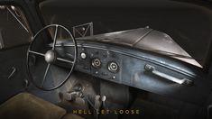 ArtStation - Opel Blitz - Hell Let Loose, Martin Ostrolucky