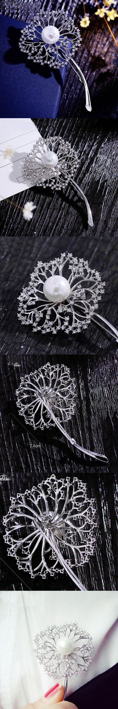 Vintage Brooches Owle Hijab Wedded Scarf Clips Quality fashion romantic zircon brooch female brooch pin accessories cape buckle