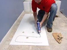 How To Install A Marble Floor And Tub Surround