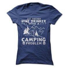 Wine & Camping - #cool tee #country hoodie. LOWEST SHIPPING => https://www.sunfrog.com/Geek-Tech/Wine-amp-Camping-69700234-Ladies.html?68278