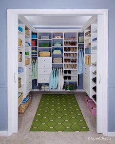 love the idea of pocket doors on the master closet so they take up less space