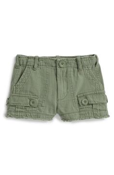 Peek+'Safari'+Cutoff+Cargo+Shorts+(Toddler+Girls,+Little+Girls+&+Big+Girls)+available+at+#Nordstrom
